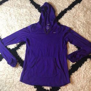 Purple Nike Light Hoodie